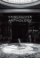 Vancouver anthology : the institutional politics of art