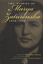 The diaries of Marya Zaturenska, 1938-1944