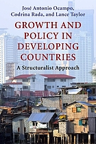 Growth and policy in developing countries : a structuralist approach