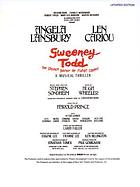 Sweeney Todd, the demon barber of Fleet Street : a musical thriller