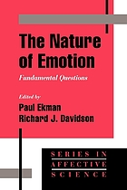 The nature of emotion : fundamental questions