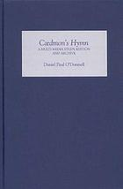 Cædmon's Hymn : a multimedia study, archive and edition
