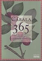 Cábala 365 : un fruto del árbol de la vida para cada día