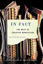 In fact : the best of Creative nonfiction