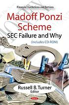 Madoff Ponzi scheme SEC failure and why