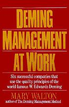 Deming management at work