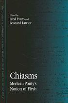 Chiasms Merleau-Ponty's notion of flesh