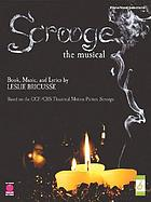 Scrooge : the musical : [piano, vocal selections]