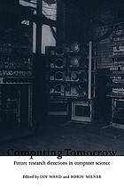 Computing tomorrow : future research directions in computer science