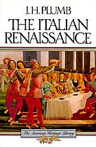 The Italian Renaissance : a concise survey of its history and culture