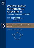 Comprehensive heterocyclic chemistry III