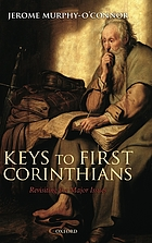 Keys to first Corinthians revisiting the major issues