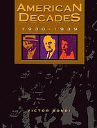 American decades : 1930-1939