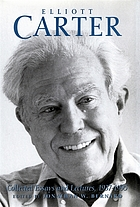 Elliott Carter collected essays and lectures, 1937-1995