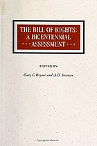 The Bill of Rights : a bicentennial assessment