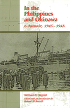 In the Philippines and Okinawa a memoir, 1945-1948