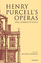 Henry Purcell's operas : the complete texts
