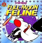 Full moon feline