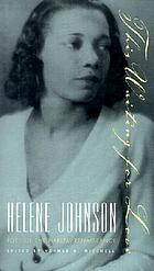 This waiting for love : Helene Johnson, poet of the Harlem Renaissance