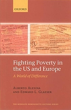 Fighting poverty in the US and Europe : a world of difference