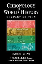 The chronology of world history