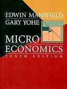 Microeconomics; theory and applications