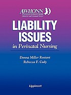 Liability issues in perinatal nursing