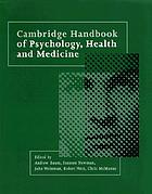 Cambridge handbook of psychology, health, and medicine