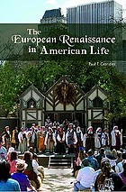 The European Renaissance in American life