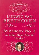 Symphony no. 3 &quot;Eroica