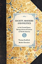 Society, manners, and politics in the United States