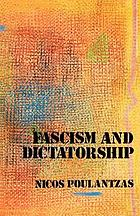 Fascism and dictatorship : the Third International and the problem of fascism