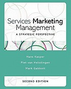 Services marketing management : a strategic perspective