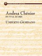 Andrea Chénier : in full score