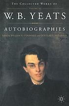 W.B Yeats autobiographies