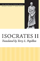 Isocrates : translated with notes