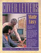 Cover letters made easy
