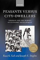 Peasants versus city-dwellers : taxation and the burden of economic development