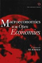 Macroeconomics for open economies