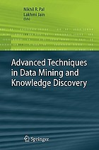 Advanced techniques in knowledge discovery and data mining