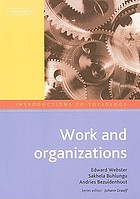 Work and organizations