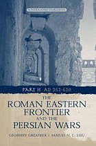 The Roman eastern frontier and the Persian Wars