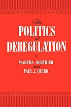 The politics of deregulation