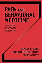 Pain and behavioral medicine : a cognitive-behavioral perspective