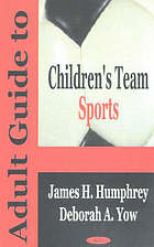 Adult guide to children's team sports
