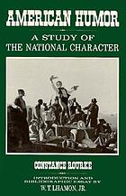 American humor : a study of the national character