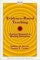 Evidence-based teaching : current research in nursing education