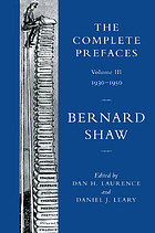 The complete prefaces