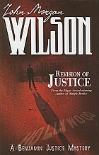 Revision of justice : a Benjamin Justice mystery