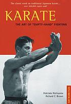 "Karate, the art of ""empty hand"" fighting"
